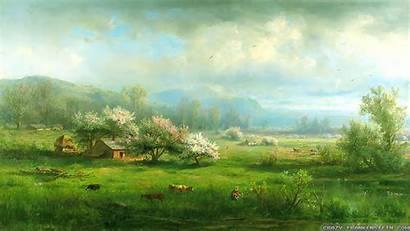 Country Backgrounds Spring Desktop Wallpapers Rotating Pc