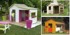Maison De Jardin En Bois Enfant : maisonnette en bois oogarden ~ Dode.kayakingforconservation.com Idées de Décoration