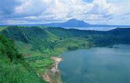 Philippines Volcano Lake Island