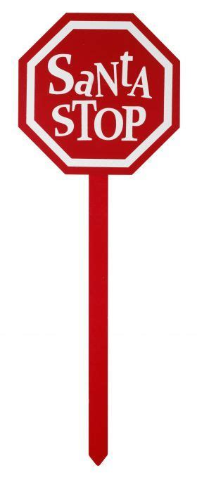 christmas santa stop sign clip art clip art christmas