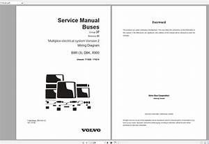 Volvo B8r  3  Trucks Service Manual Buses  U0026 Wiring
