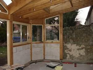 Veranda En Bois A Faire Soi Meme : veranda suite exterieur nos travaux ~ Premium-room.com Idées de Décoration