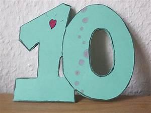 Einladungen Kindergeburtstag Selbst Gestalten : einladung zum 10 geburtstag selber basteln youtube ~ Markanthonyermac.com Haus und Dekorationen