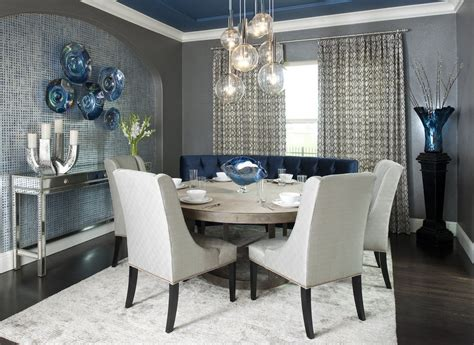 accent wall ideas for modern small dining room ideas with
