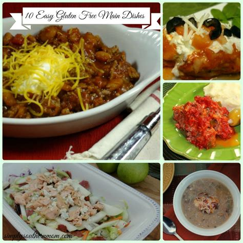 10 Easy Gluten Free Main Dish Recipes  Simply Southern Mom