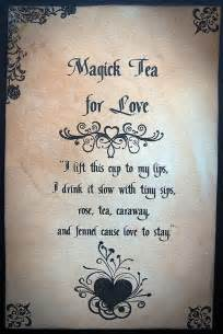 Tea Love Spell Magick
