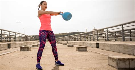 kettlebell swings popsugar