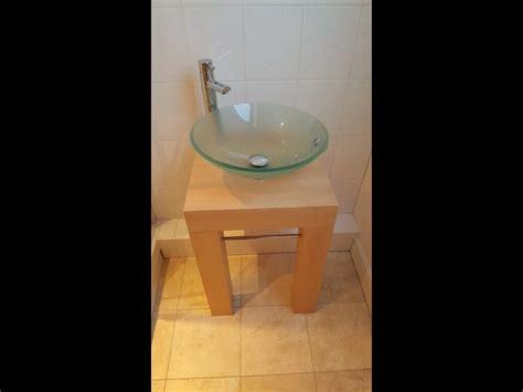 glass bathroom sink  wimborne dorset gumtree