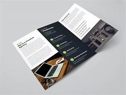 Brochure Tri Fold Professional Template Helsinki Brochures
