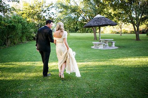 A Glamorous Black Tie And Gold South African Vineyard
