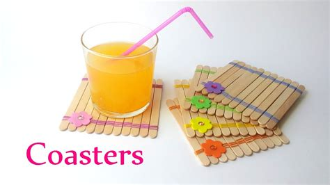 Craft Images Diy Crafts Coasters Using Sticks Innova