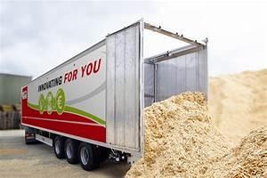 quartz sand boxes potatoes pellets walking floor With walking floor hauliers