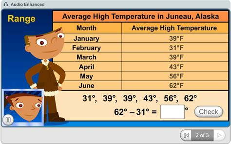 grade math learning game  weather report