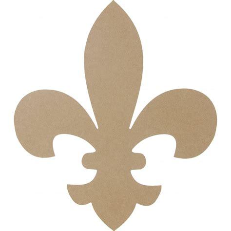 """Natural Wooden Fleur De Lis Shape: 16"""" [AB2231 ..."""