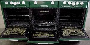 Antique Gas Stoves 60quot Roper Town Country Custom Color