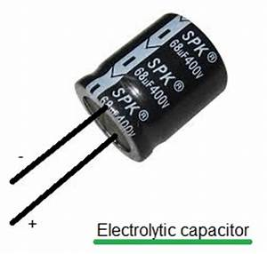 Electrolytic capacitor polarity | Electrolytic capacitor ...