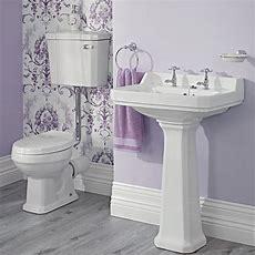 Traditionelle Badausstattung Carlton Mit Toilette