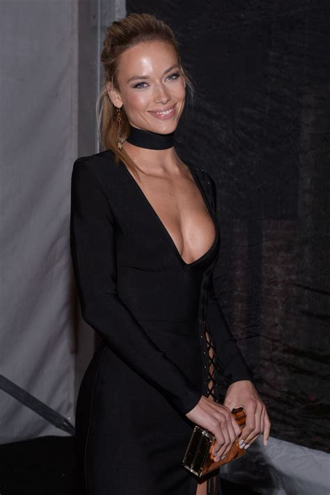 Hannah Ferguson At Leather And Laces Super Bowl Li Party In
