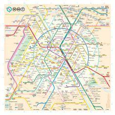 Carte Métro Rer Banlieue by Plan Interactif M 195 ƒ 194 169 Tro Rer Banlieue