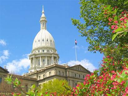 Spring Michigan Senate State Winter Fall Dome