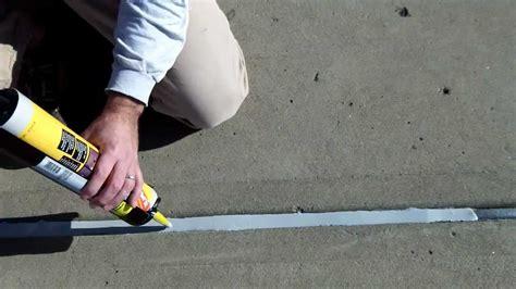 caulking gun concrete expansion joints part 2 apply watertight