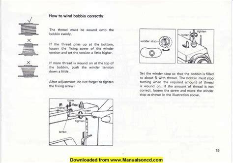 necchi   sewing machine instruction manual