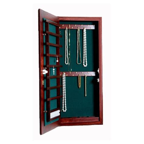 small wall mount cabinet small wall mounted jewelry cabinet magnetic lock in