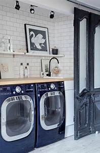 Lave Linge Petit Espace : am nager sa buanderie fonctionnelle et belle une t che ~ Premium-room.com Idées de Décoration