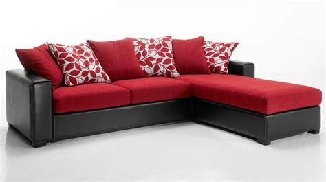 canapé d angle et noir canapé d 39 angle tissu et noir pas cher canapé tissu