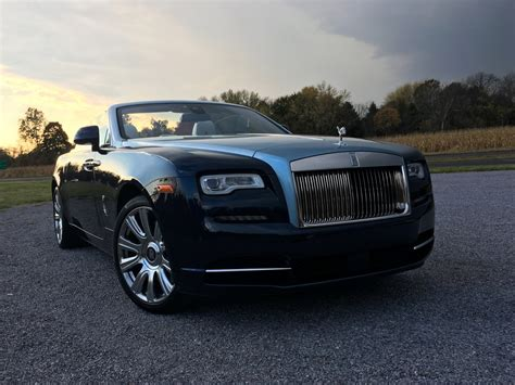 A Review Of The $400,000 Rollsroyce Dawn Convertible