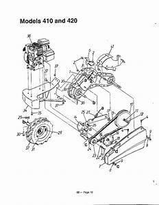 30 Mtd Tiller Parts Diagram
