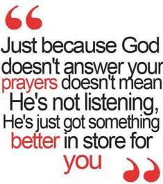 God Quotes About Prayer