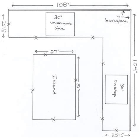 kitchen design measurements countertop countertop measurement coffee table 1266