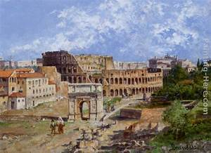 Antonietta Brandeis The Colosseum Rome painting anysize 50 ...