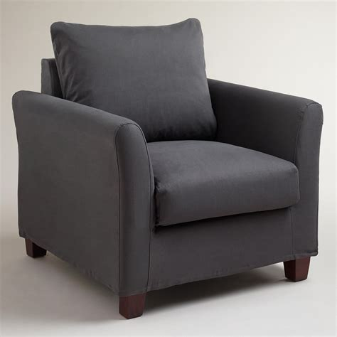 Living Room Chair Slipcovers by Charcoal Luxe Chair Slipcover World Market