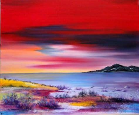 l artiste cv creations peinture paysage peinture a l huile sur toile