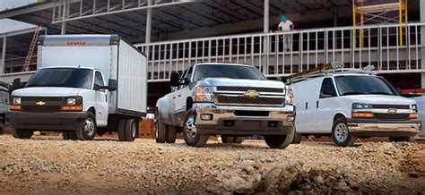 Fleet & Chevrolet Commercial Vehicles At Chevrolet Of