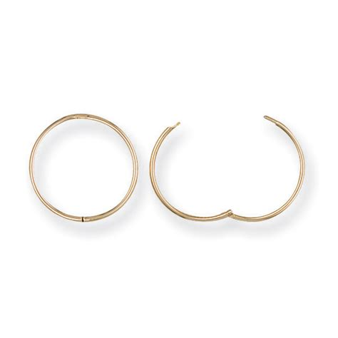 What Is A Sleeper Earring by 9ct Yellow Gold Sleeper Earrings Northumberland Goldsmiths