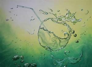peindre l39eau rendre en peinture l39effet de transparence With comment peindre l eau