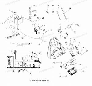 2007 Polaris Sportsman 500 Parts Diagram