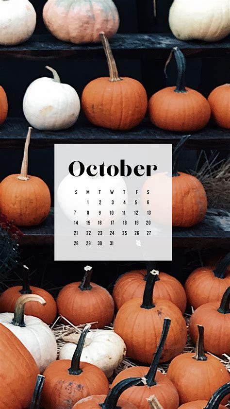 October Downloadable Desktop Wallpaper - sonrisastudio.com