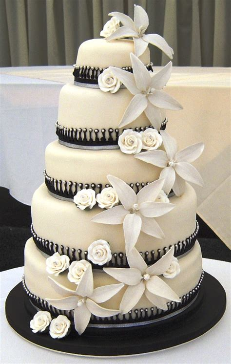 and black wedding cakes amazing black and white wedding cakes 40 pic awesome pictures