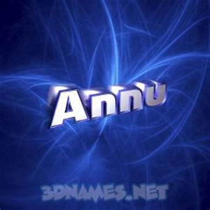 12 3D Name wallpaper images for the name of 'Annu'