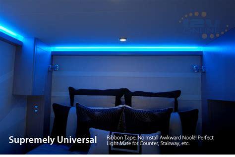 decorative rv interior lights led 12v 16 quot light 3528 blue bright