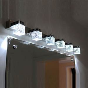 Lampe Miroir Salle De Bain : marvelous lampe pour salle de bain 1 luminaire salle ~ Dailycaller-alerts.com Idées de Décoration