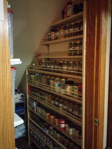 cool    jar deep shelves  husband built