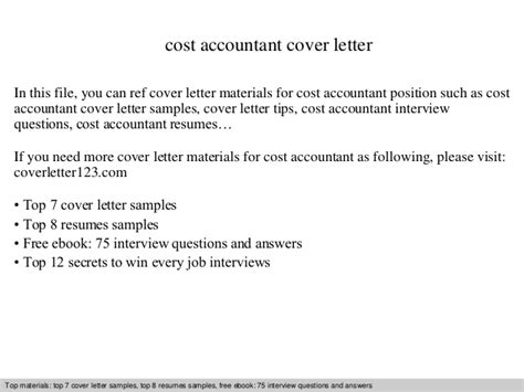 Cover Letter Accountant - Costumepartyrun