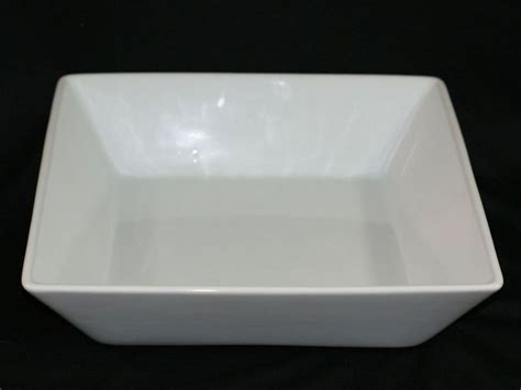 Pampered Chef Simple Additions Large White Square Serving