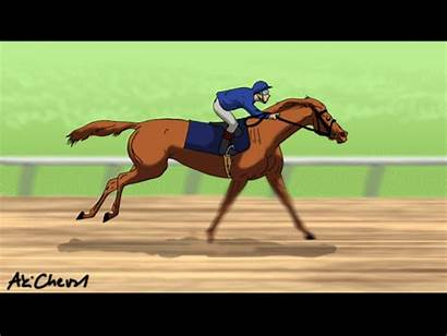 Horse Race Animation Horses Running Deviantart Action