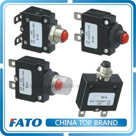 China Mini Circuit Breaker With Reset Thermal Overload